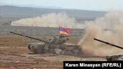 Ermənistanda təlimlər, 16 sentyabr 2012.