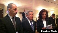 Татарстан президенты Рөстәм Миңнеханов һәм Чехиянең сәүдә вә сәнәгать министры Мартин Куба