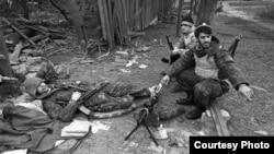 Нохчийчоь -- Соьлж-ГIала, Хьалхара тIом, Нохчийн тIемалой, ГIура-бутт, 1994 шо.