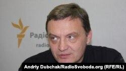 Юрій Гримчак у студії Радіо Свобода