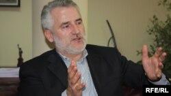 Kreu i Partisë Demokratike Shqiptare në Maqedoni, Menduh Thaçi.