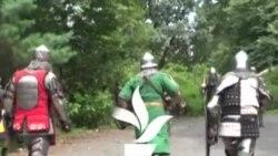 Гладијатори на борба во њујоршки Централ парк