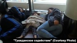 Так жили беженцы в Шереметьеве