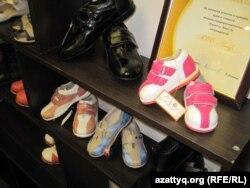 Детская обувь казахстанского производства. Астана, 21 ноября 2012 года.