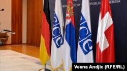 Steagurile ţărilor din Troica OSCE