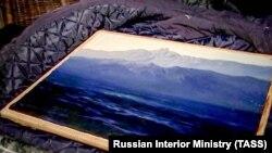 Похищенная картина Архипа Куинджи, которую нашли в Московской области