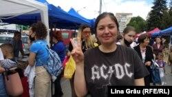 Diana Crudu, organizatoarea târgului Cămara Fest