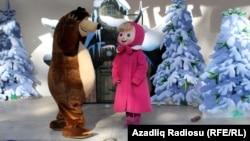 Вистава «Маша і Ведмідь» у Грузії, березень 2013 року