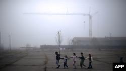 Copii, refugiați sirieni în Bulgaria
