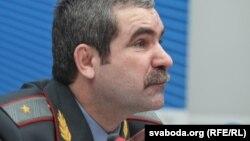 Анатоль Куляшоў, міністар унутраных спраў