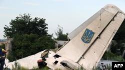 Ҳавопаймои суқуткардаи АН-26-и Украина