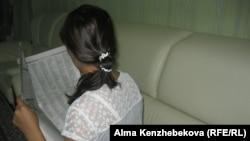 Жительница города Алматы Майя Ахметова. 18 сентября 2016 года.
