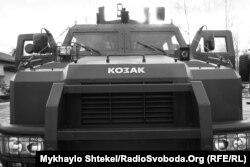 Бронеавтомобіль «Козак-2», який використувується в частинах прикордонної служби і Національної гвардії України