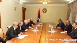 Մինսկի խմբի համանախագահները Ղարաբաղում քննարկել են սահմանին տիրող իրավիճակը
