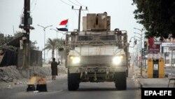 خودروی نظامی جداییطلبان جنوب یمن