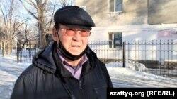 Орал қаласында тұратын азаматтық белсенді Серік Қайыпқалиев.