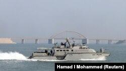 Американский катер Mark VI в Аравийском море, архивное фото