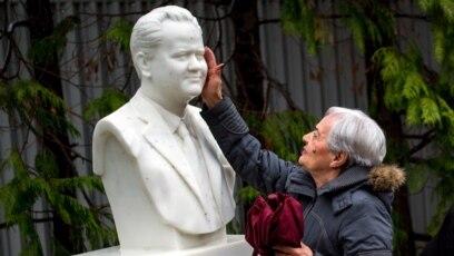 Bista Slobodana Miloševića u Požarevcu