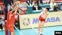 بازی ایران و چین در توکیو