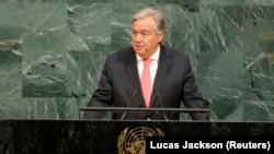 Obraćanje Antonija Guterresa na zasjedanju Glavne skupštine UN-a