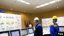 بخشی از تاسیسات نیروگاه هسته ای بوشهر.