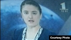 Zarrina Rahmon, the daughter of the Tajik President Emomali Rahmon, previously had a two-month stint as a newscaster for state television. (file photo)