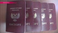 """""""Живем, как в резервации"""": в непризнанной """"ДНР"""" начали выдавать паспорта"""