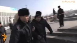 Полиция наразыларды ұстады