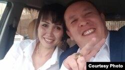 Супруги Маусим и Бауыржан Калиевы — пассажиры самолета авиакомпании Bek Air, потерпевшего крушение 27 декабря 2019 года. Фото из личного архива семьи.