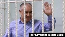 Омурбек Текебаев в суде. 11 августа 2017 года.