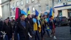 У Львові учасники Майдану протестували на підтримку арештованих побратимів