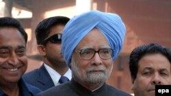 Индиялъул премьер-министр Манмохан Сингх Нью Делиялда, 05Дек2013.