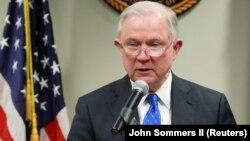 Prokurori i Përgjithshëm i SHBA-së, Jeff Sessions.