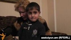 До приезда полиции семья Ераносян с двумя малолетними детьми пережила ужас. Гюмри, 2 февраля 2016 г․