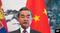 Министр иностранных дел Кита Ван И.