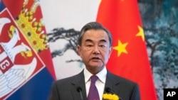 Министр иностранных дел Китая Ван И.