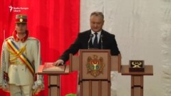Igor Dodon a fost învestit în funcția de președinte al Republicii Moldova
