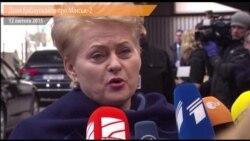 «Мінськ-2 не вирішує проблему кордону» – Ґрібаускайте