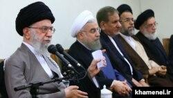 آیتالله علی خامنهای رهبر مذهبی ایران