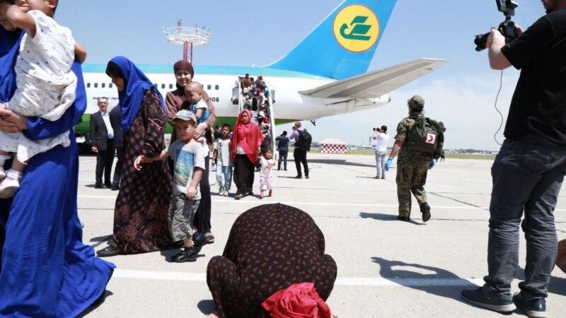 Өзбекстан Сириянын лагерлериндеги жарандарын алып келет