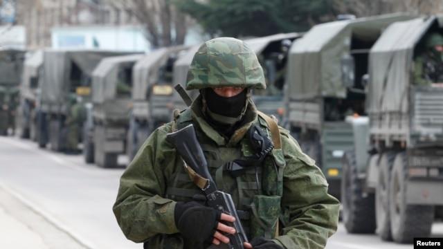 Российские войска в Балаклаве