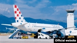 Avion Croatia Airlinesa, Zagreb