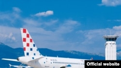 Avion Croatia Airlines A320, arhiv, ilustrativna fotografija