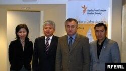 Кыргыз оппозиция лидерлери жакында АКШда сапарда болуп келишти.