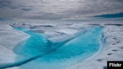 Antartik - topljenje leda