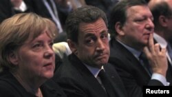 Merkel and Sarkozy have spearheaded the response to the European financial crisis