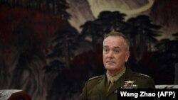 Kreu i Shtabit të Përgjithshëm të ushtrisë amerikane, gjenerali ,Joseph Dunford në Pekin