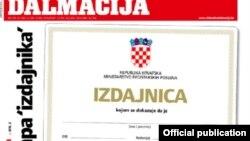 Naslovna strana Slobodne Dalmacije