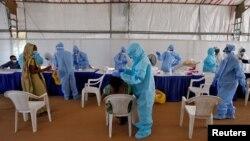 آرشیف، مرکز تشخیص ویروس کرونا در هند