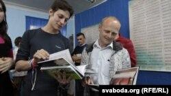 Сяргей Казакоў і Зьміцер Дрозд.